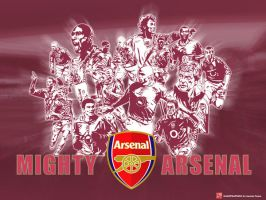 Mighty Arsenal by gunner13