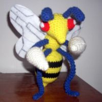 Beedrill Plush by black-moon-flower
