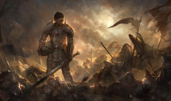 Grief Of War by cha4os