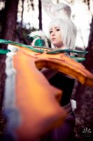 Battle Bunny Riven - Surrender! by ZerinaX