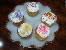 Assorted Decorated Cupcakes 1 by FantasyStock