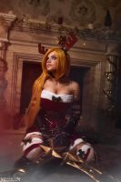 LOL - Christmas - Katarina by MilliganVick
