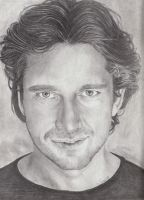 Commission of Gerard Butler by Samwise45