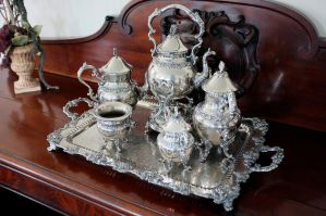 Silver Tea Set 2 by rdswords