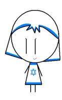 CSF IsraelCountry Stick Figure by ABtheButterfly