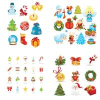 23 Christmas Free Vector Icon sets by cgvector
