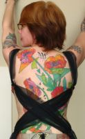 Poppies back-piece. by madamelazonga
