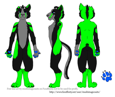 Cat Fursuit Reference by PawthenticCreations