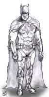 Batman Redesign by KennyGordon