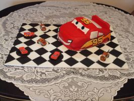 Cars Cake 1 by lenslady