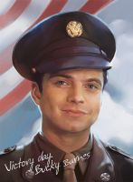 Victory day. Bucky Barnes by IQuoter