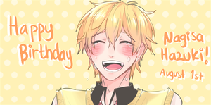 FREE!: Happy Birthday Nagisa!! by KageNao