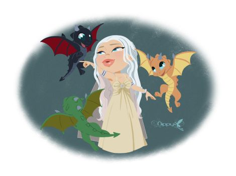 Mother of dragons by Nippy13