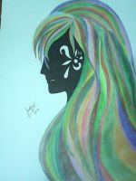 Rainbow Girl Ver. Abstract by hayameh03