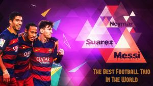 The Best Football Trio In The World - MSN by Leo10thebest