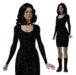 Miranda Lawson Glam Meshmod for XPS by Just-Jasper