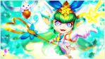 [LoL] Star Guardian Lulu (Wallpaper) by PopokuPinguPop90