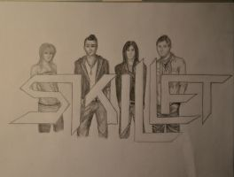 Request for Colinescobar: Skillet by TeddyLama