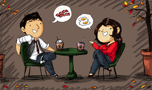 Dave and I by Bonka-chan