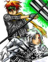 D. Gray Man Team Up SPOILERS by Rinkuchan27