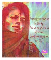 MJ Greeting Card 9 of Series 2 by syah-mj