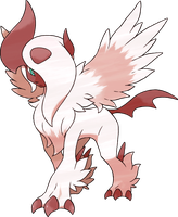 Shiny Mega Absol by Ilona-the-Sinister