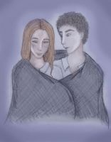 Ginny and Aaron by DoodlePixie