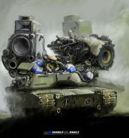 Heavy stereo tank by thegunner