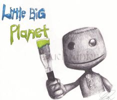 Little Big Planet: Sackboy by Duchednier