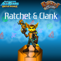Ratchet and Clank Wallpaper by CrossoverGamer