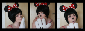 Minnie Mouse -test shot by dreamcatcher-hina