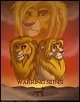 Warring Suns: Cover by sanguine-tarsier