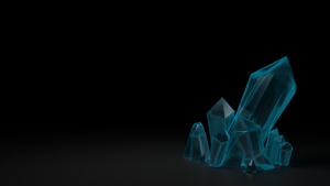 Crystals 3D by Piplington