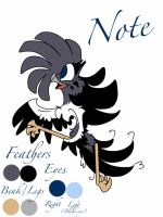 Official Note Character Sheet 2013 by MOVEDTOHAWKBUTT