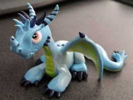 Baby Netherdrake by Sarzcoo