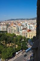 View from Sagrada Familia by Lucy-art