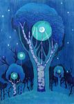 The Moon Trees by yanadhyana