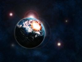 Planet Impact 2 by Francr2009