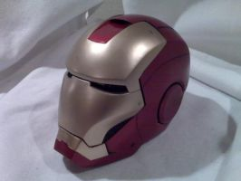 Iron Man side view by dragostat2
