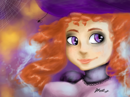 Ginger witch sorta by irVampire