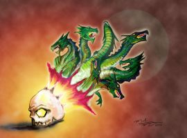 Dragon Days by montalvo-mike