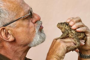 Old Man and Toad by ELKAPL