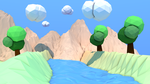 LowPoly Picture 4K by drabtube