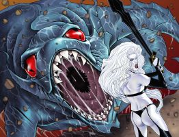Lady Death 19 wrap cover by MDiPascale