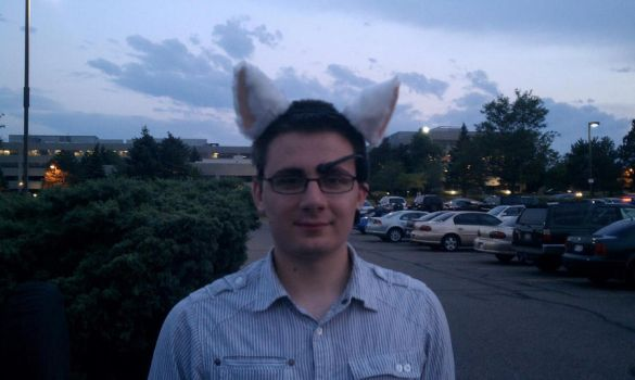 me with my new ears by killer-klaus