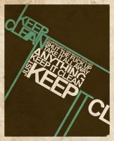 keepITclean by skryingbreath
