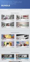 Facebook Timeline Cover Photo Bundle by frozencolor