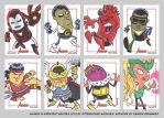 MGH2012 sketchcards 11 by thecheckeredman