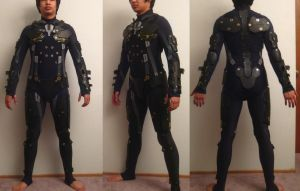 Metal Gear Rising Raiden WIP by effektdmentality