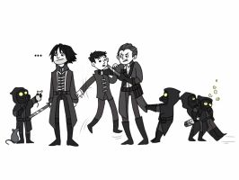 Dishonored doodles! by SteveRiley